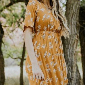 Roolee Feen Print Maxi dress